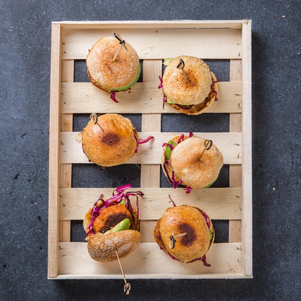 plat de mini hamburger ofyr