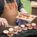 steak mini hamburgers